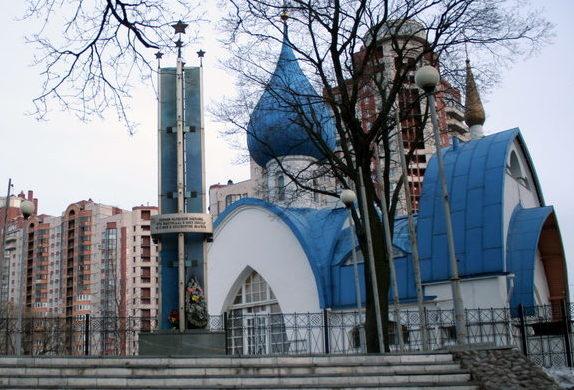 Памятник Героям Нарвской заставы.