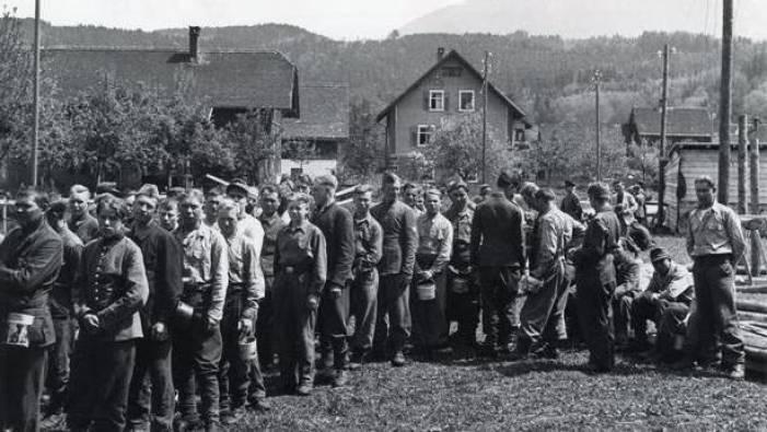 Остатки дивизии «Руссланд». Лихтенштейн, апрель 1945 г.