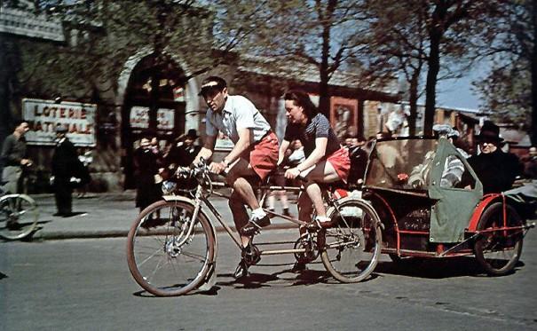 Парижские рикши. 1943 г.