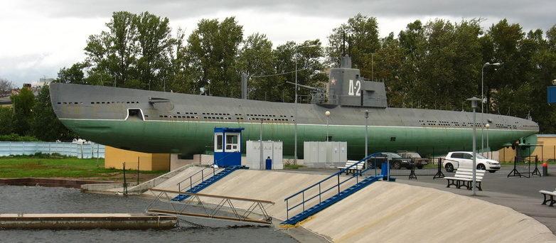 Общий вид подлодки Д-2.