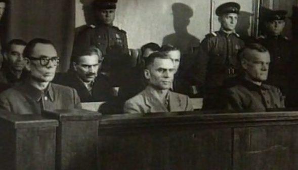 Суд над генералом Власовым и его соратниками. Июль 1946 г.