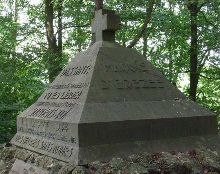 Муниципалитет Fisenne. Памятник героям погибших в 1944 г.