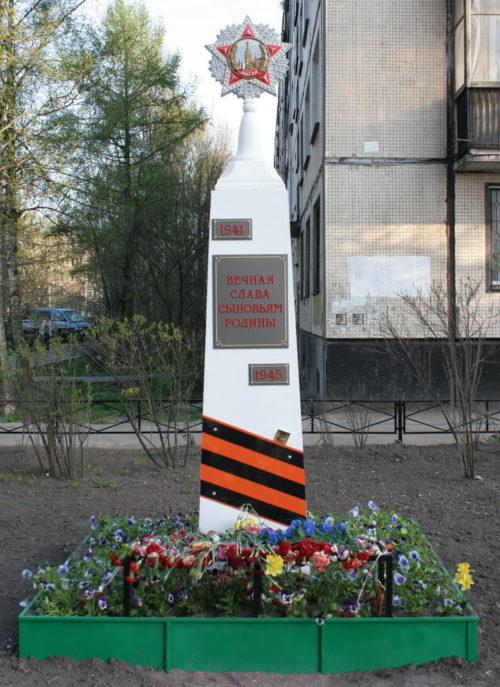 Стела «Сыновьям Родины» по улице Солдата Корзуна, 34 была установлена в 2011 году.
