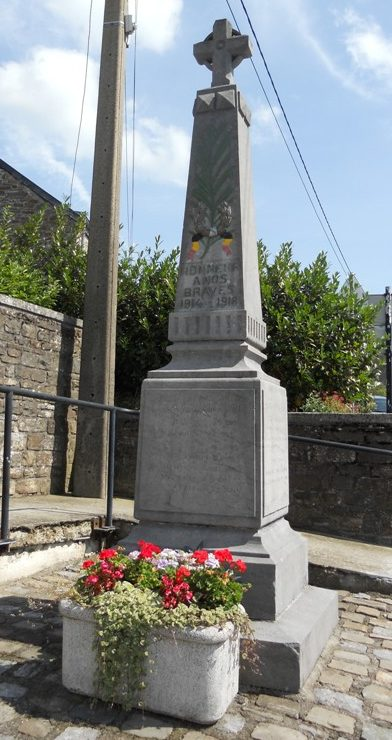 Муниципалитет Harre. Военный мемориал обеих войн.