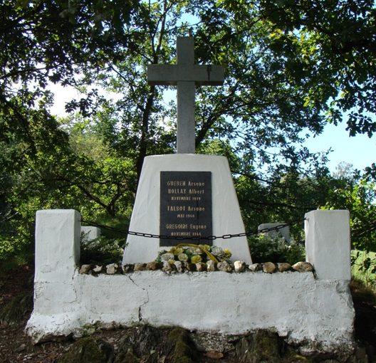Муниципалитет Hollange. Военный мемориал 1940 -1945 годов.