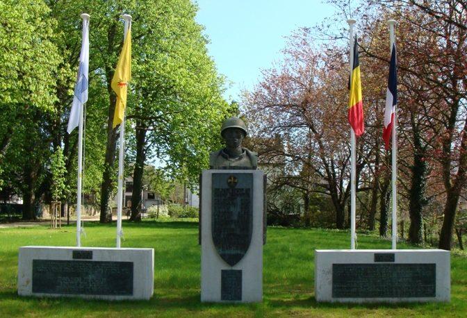 Муниципалитет Jamoigne. Памятник жертвам двух войн.