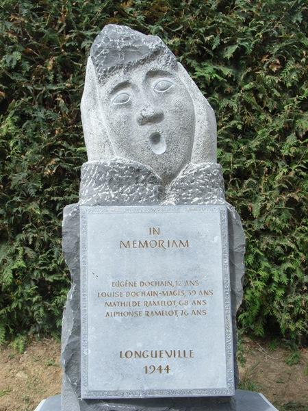 Муниципалитет Longueville. Памятник расстрелянным в 1944 г.