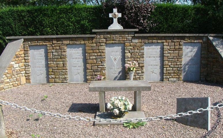 Муниципалитет Verdenne. Памятник воинам, погибшим в годы Второй мировой войны.