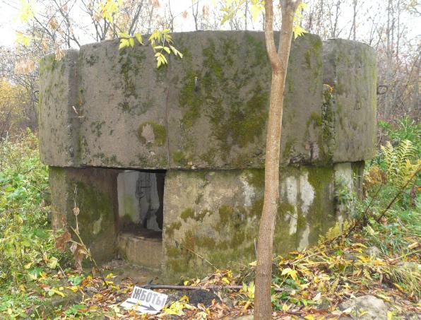 ДОТы по ул. Софийская, д. 71 на площадке бывшего радиоцентра.