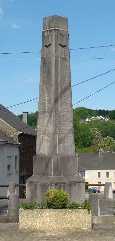 Муниципалитет Messancy. Памятник жертвам обеих войн.
