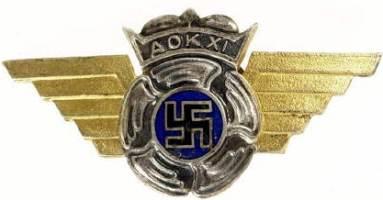 Знак летной школы до 1944 г.