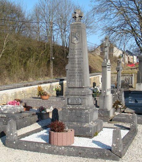 Муниципалитет Nobressart. Памятник жертвам обеих войн.