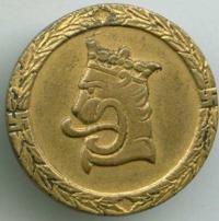 Знак армейской квалификации «1-й» класс.