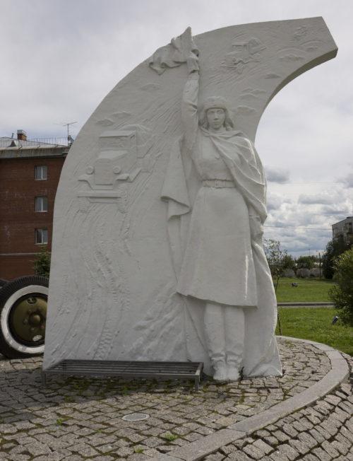 Памятный знак «Регулировщица».