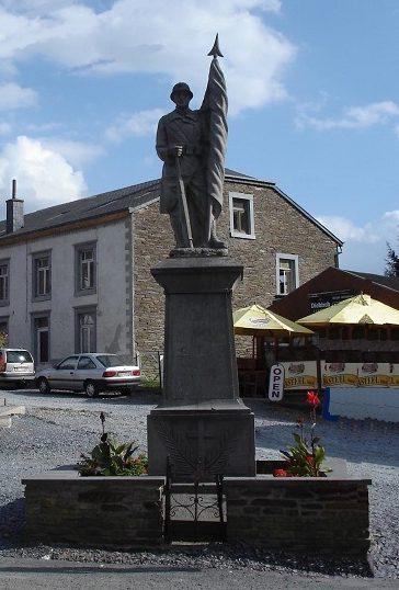 Муниципалитет Rochehaut. Памятник погибшим воинам и жертвам обеих войн.