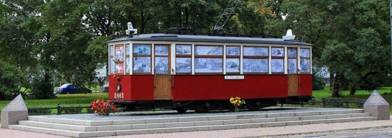 «Блокадный трамвай».