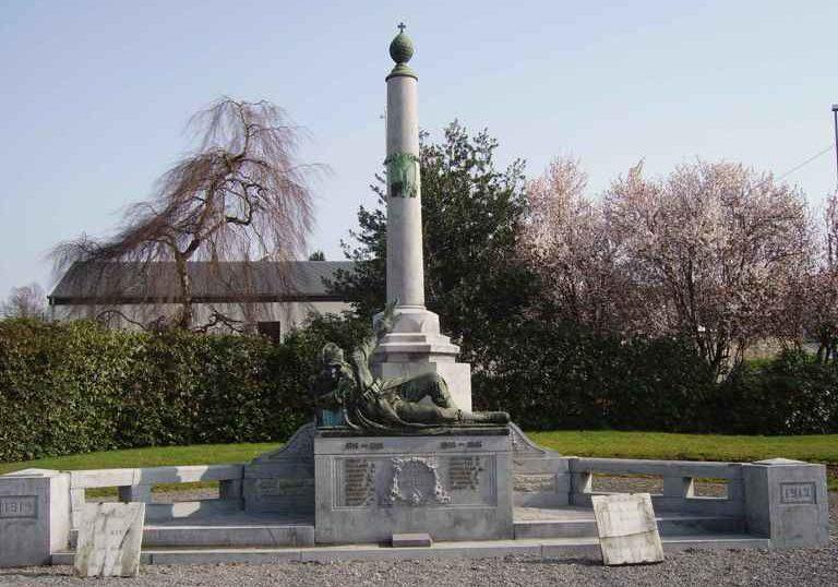 Коммуна Vielsalm. Военный мемориал обеих войн.