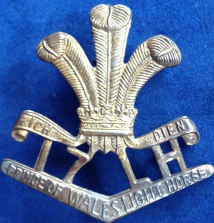 Знак на шляпу военнослужащих 17-го полка легкой кавалерии.