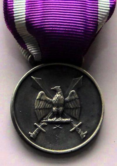 Знак серебряной медали Ордена Римского орла с мечами II-го типа.