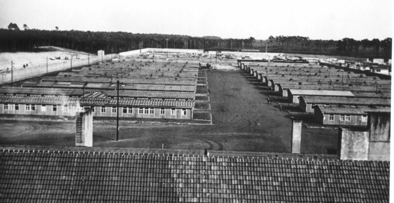 Общий вид лагеря. 1939 г.