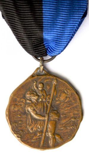 Аверс и реверс памятной медали 6-го авто-центра «Bologna».