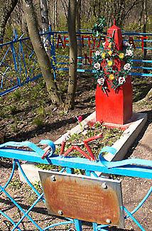 д. Корпикюля Гатчинского р-на. Братская могила советских воинов.