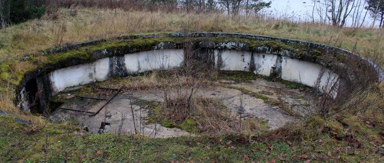 д. Гора-Валдай Ломоносовского р-на. Остатки форта «Серая Лошадь».
