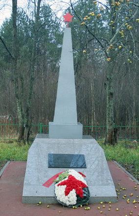 д. Борисова Грива Всеволожского р-на. Памятник на братской могиле.