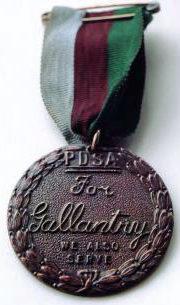 Медаль Марии Дикин для животных.