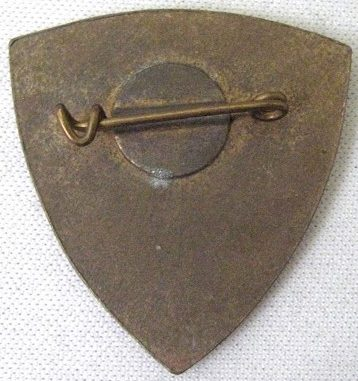Аверс и реверс знака бригады Гарибальди.