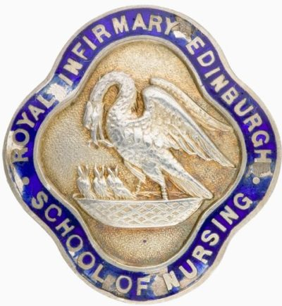 Знак Эдинбургской школы медсестер Королевского госпиталя.