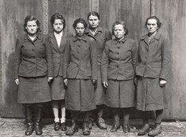 Женщины надзирательницы лагеря Равенсбрюк.