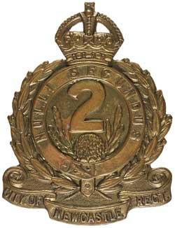 Знак на шляпу военнослужащих 2-го пехотного батальона.