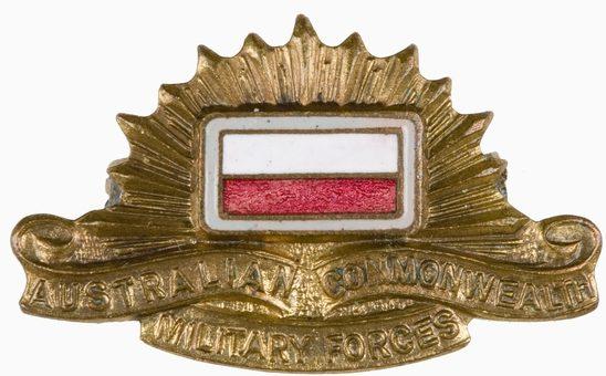 Знак на шляпу военнослужащих 2/8-го пехотного батальона.