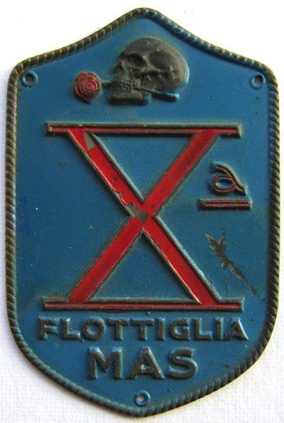 Нарукавный щит 10-й флотилии МАС. Королевство.