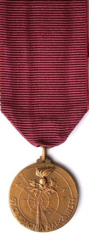 Аверс и реверс памятной медали Медаль 3-го инженерного (телеграфисты) полка.