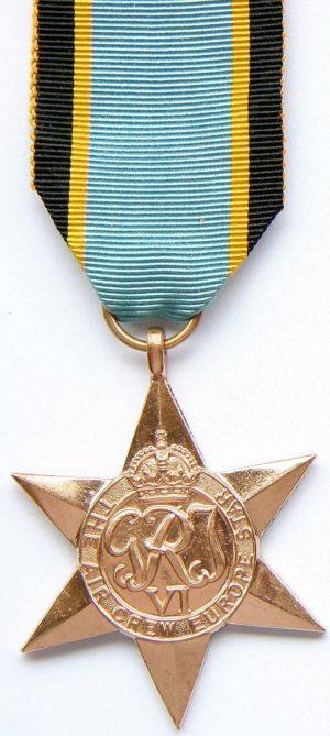 Медаль «Звезда воздушных сил Европы»