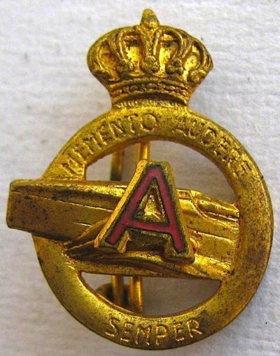 Аверс и реверс знака отряда быстроходных катеров 10-й флотилии МАС.