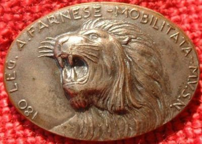 Памятный знак 180-го легиона чернорубашечников «Alessandro Farnese».