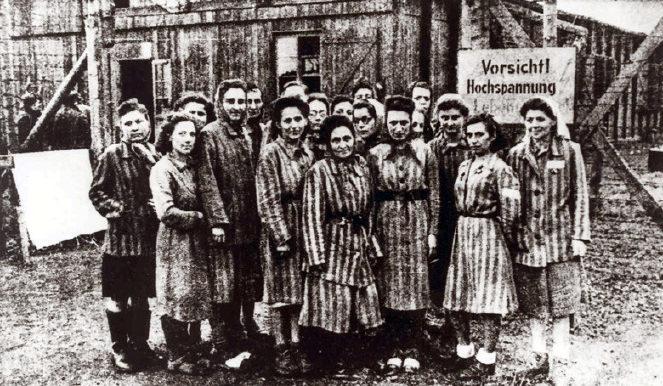 Освобождение лагеря. Апрель 1945 г.