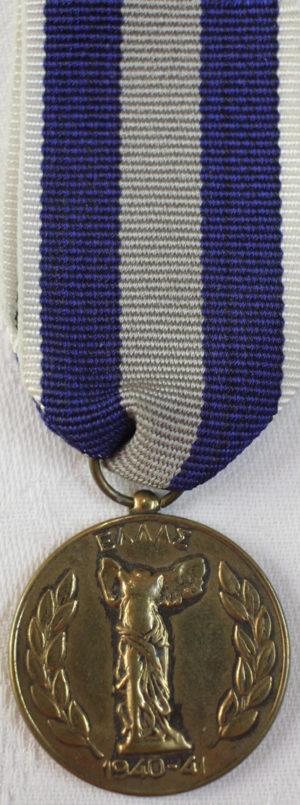 Аверс и реверс памятной медали войны 1940-1941.