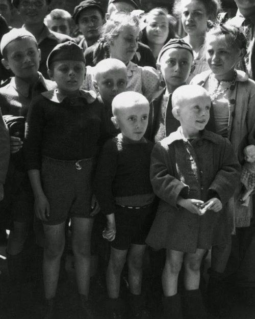 Дети из лагеря после освобождения отправляются на реабилитацию.