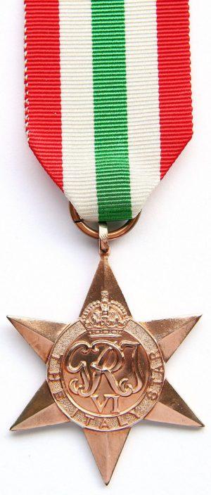 Медаль «Звезда Италии»