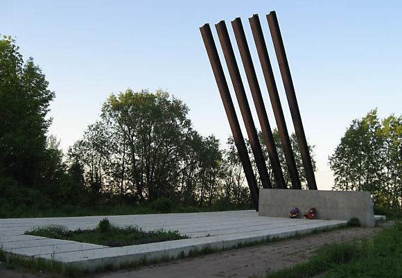 шос. Дорога жизни. Всеволожского р-н. Памятник «Катюша».