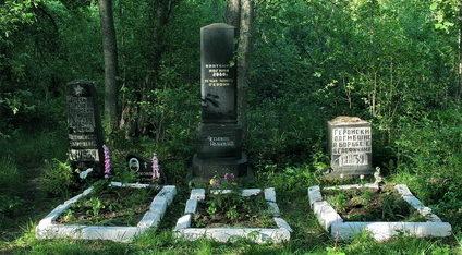 п. Каменка Выборгского р-на. Братские могилы советских воинов.
