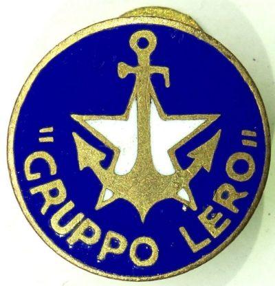 Аверс и реверс «Группы Леро» морской пехоты ВМС Италии.