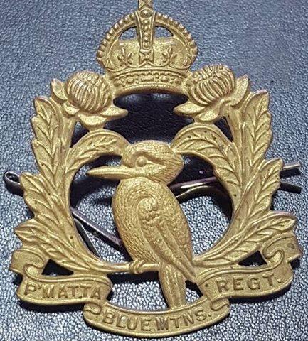 Знак на шляпу военнослужащих 20-го пехотного батальона.