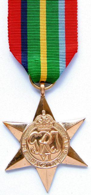 Медаль «Тихоокеанская звезда».