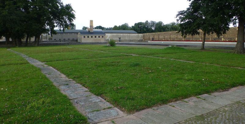 Мемориал на месте концлагеря.