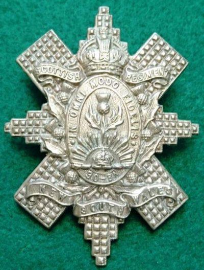 Знак на шляпу военнослужащих 30-го пехотного батальона.